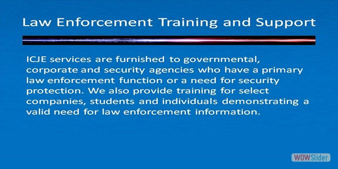 Law Enforcement Training 2